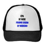 Fishing Legend CPA Trucker Hat