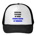 Fishing Legend English Teacher Hat
