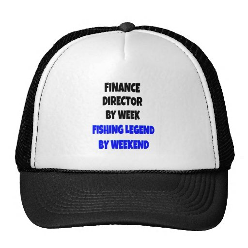 Fishing Legend Finance Director Hat