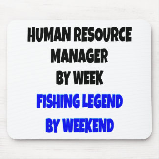 Fishing Legend Human Resource Manager Mouse Pad