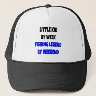 Fishing Legend Little Kid Trucker Hat