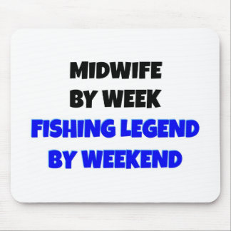 Fishing Legend Midwife Mouse Pad