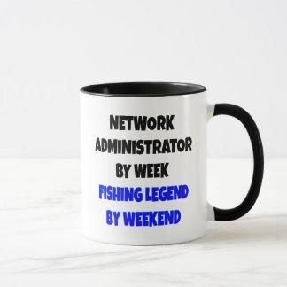 Fishing Legend Network Administrator Mug