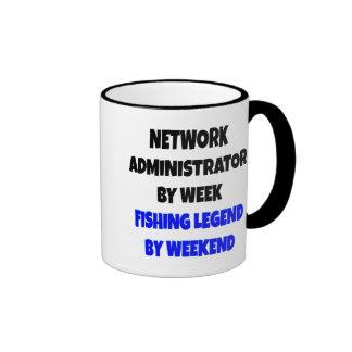 Fishing Legend Network Administrator Mugs