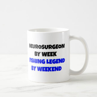 Fishing Legend Neurosurgeon Coffee Mug