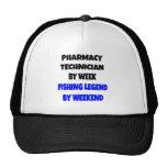Fishing Legend Pharmacy Technician Trucker Hats