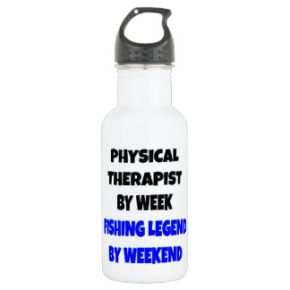 Fishing Legend Physical Therapist Water Bottle
