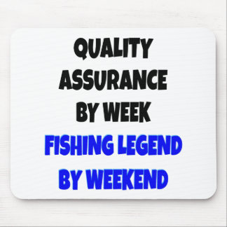 Fishing Legend Quality Assurance Clerk Mouse Pad
