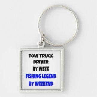 Fishing Legend Tow Truck Driver Keychain