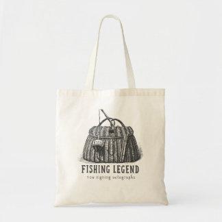 Fishing Legend Vintage Tackle Box Canvas Bags