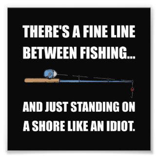 Fishing Line Photo Print