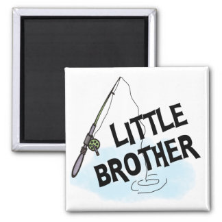 Fishing Little Brother Tshirts and Gifts Refrigerator Magnets
