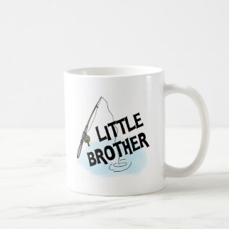 Fishing Little Brother Tshirts and Gifts Classic White Coffee Mug