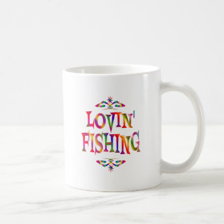 Fishing Lover Classic White Coffee Mug