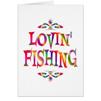 Fishing Lover Greeting Card