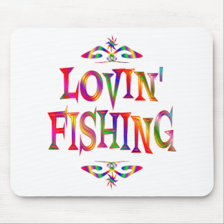 Fishing Lover Mouse Pad