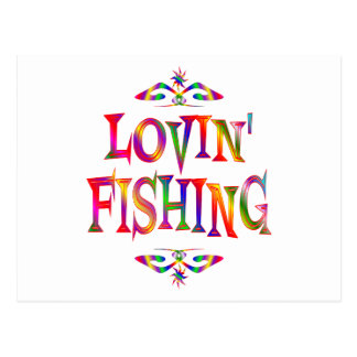 Fishing Lover Postcard