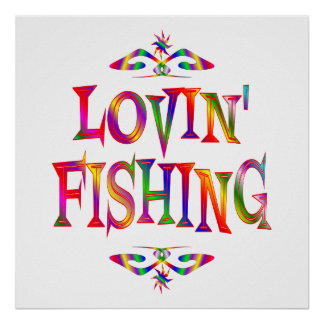 Fishing Lover Poster