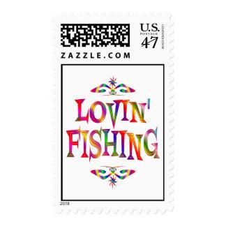 Fishing Lover Stamp
