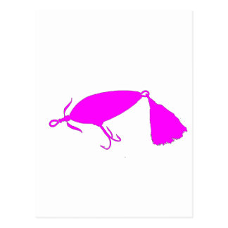 Fishing Lure 1 Silhouette c Postcard