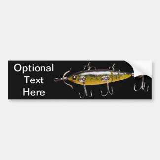 Fishing Lure 2 Bumper Sticker