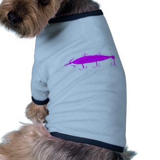 Fishing Lure 2 Silhouette c Pet Clothing