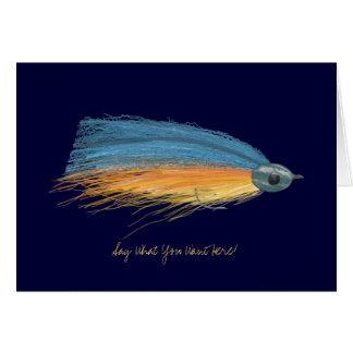 Fishing Lure Blank Greeting Card