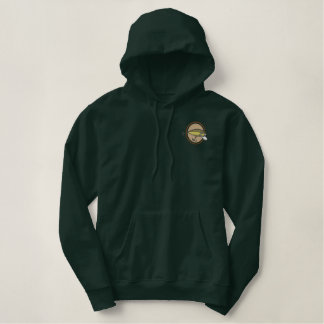Fishing Lure Embroidered Hoodie