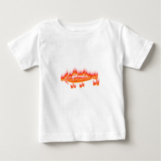 Fishing Lure- Flame design Baby T-Shirt