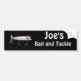 Fishing Lure Items Bumper Sticker