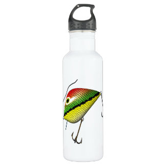 Fishing Lure Stainless Steel Water Bottle