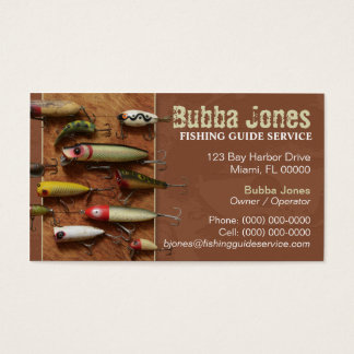 Fishing Lures Business Card