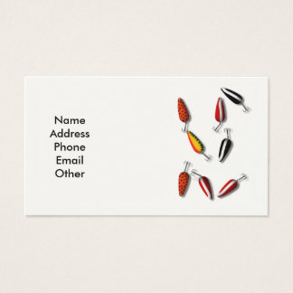 Fishing Lures Business Cards