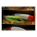 Fishing Lures Card