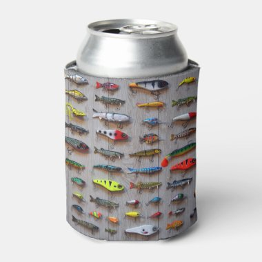 Fishing Lures Gone Fishing Gifts for Fishermen Can Cooler