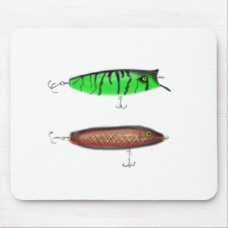 Fishing Lures Mouse Pad
