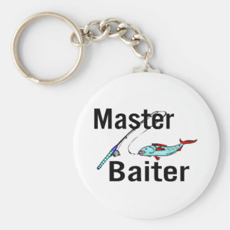 Fishing Master Baiter Keychain