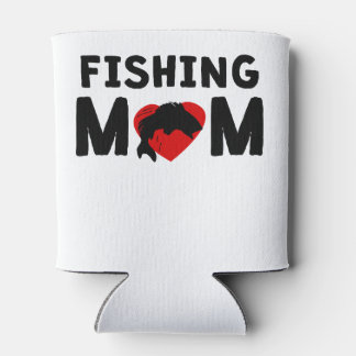 Fishing Mom Can Cooler