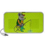 Fishing Mouse iPod Speaker