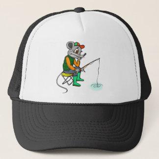 Fishing Mouse Trucker Hat