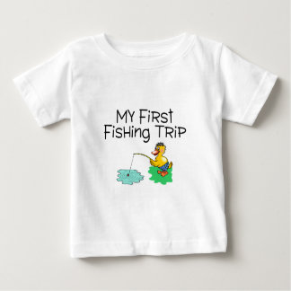 Fishing My First Fishing Trip Baby T-Shirt