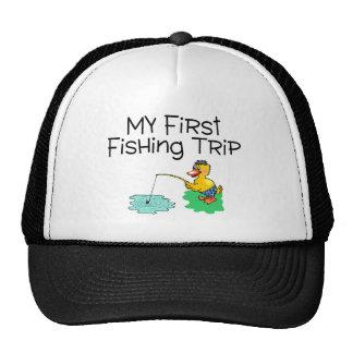 Fishing My First Fishing Trip Trucker Hat