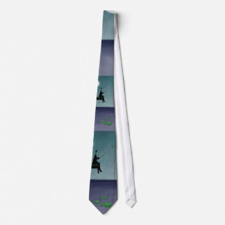 fishing, neck tie