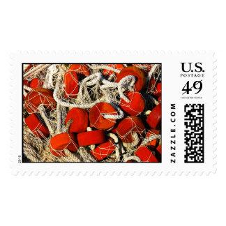 fishing net postal stamps