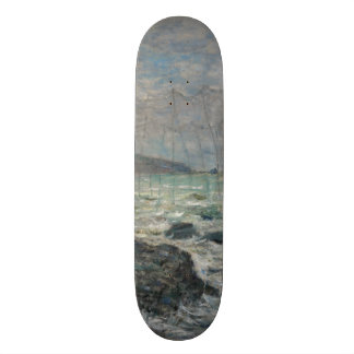 Fishing Nets at Pourville by Claude Monet Custom Skate Board