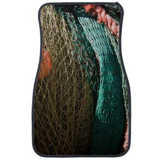 Fishing nets car floor mat