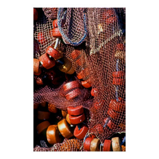 Fishing Nets Poster