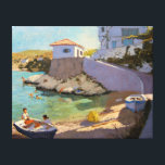 """Fishing Nets Samos 2005 Canvas Print<br><div class=""""desc"""">Fishing Nets  Samos  2005 (oil on canvas)  Macara  Andrew / Private Collection / Bridgeman Images Sea &amp; Shipping Europe Sea and Shipping</div>"""