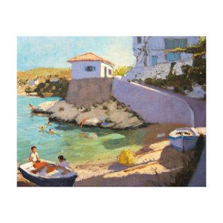Fishing Nets Samos 2005 Canvas Print