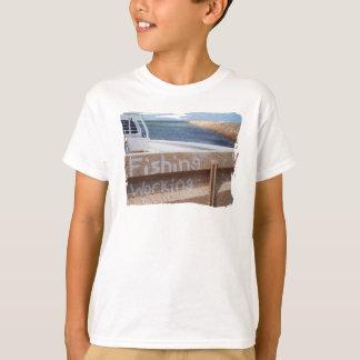 Fishing NOT Working beach sky jetty pier ute T-Shirt
